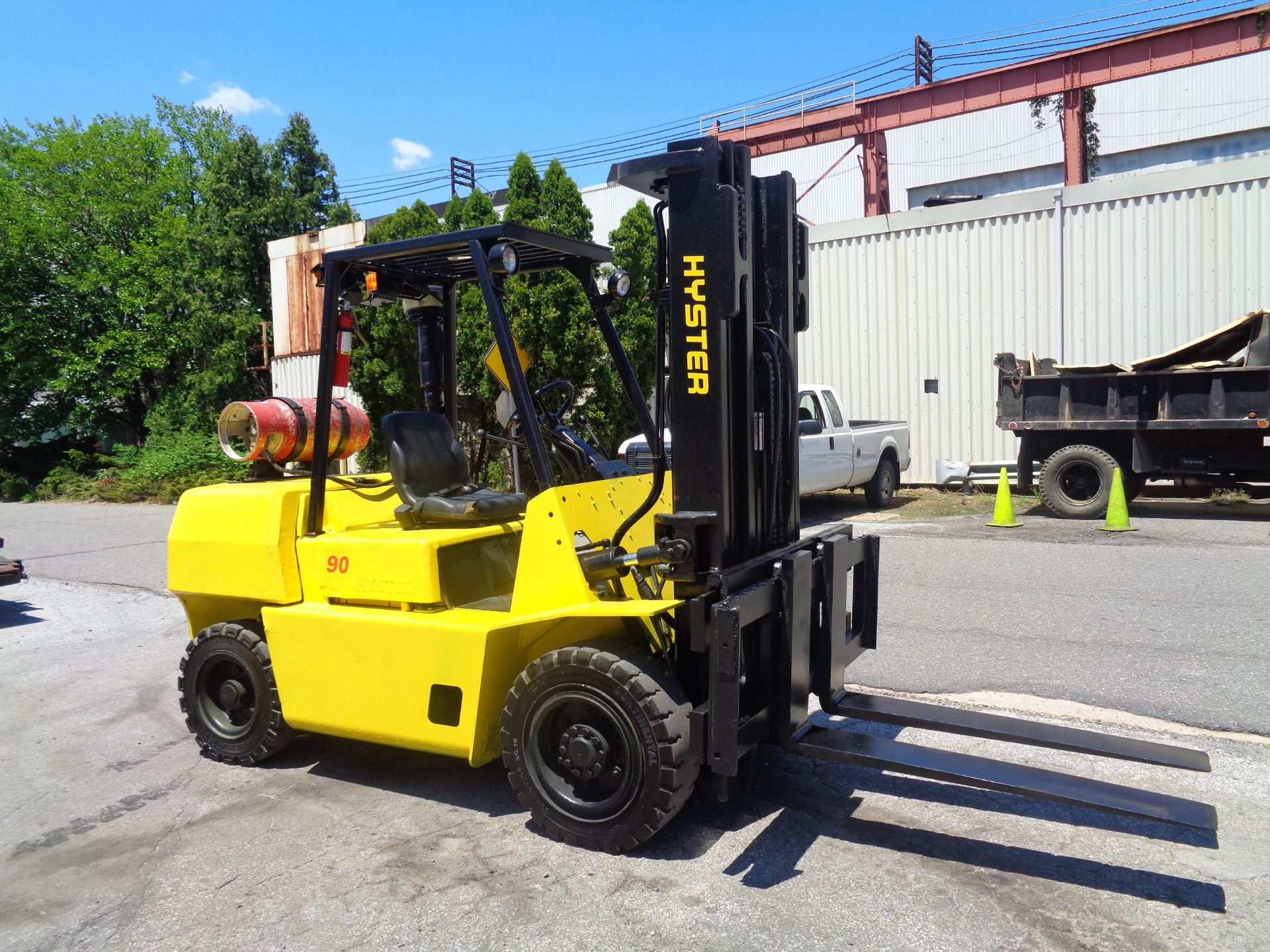 Hyster H90XLS Forklift 9,000 lbs - Image 8 of 13