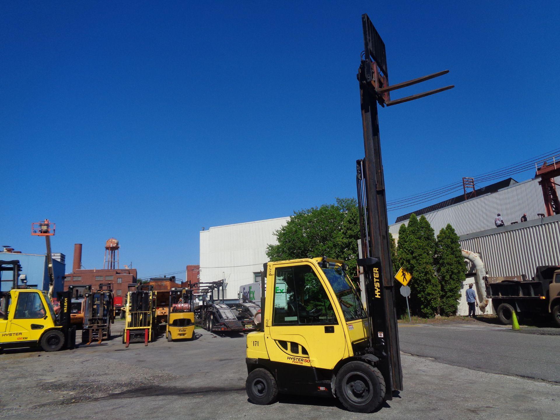 2015 Hyster H50FT 5,000 lb Forklift - Image 9 of 12