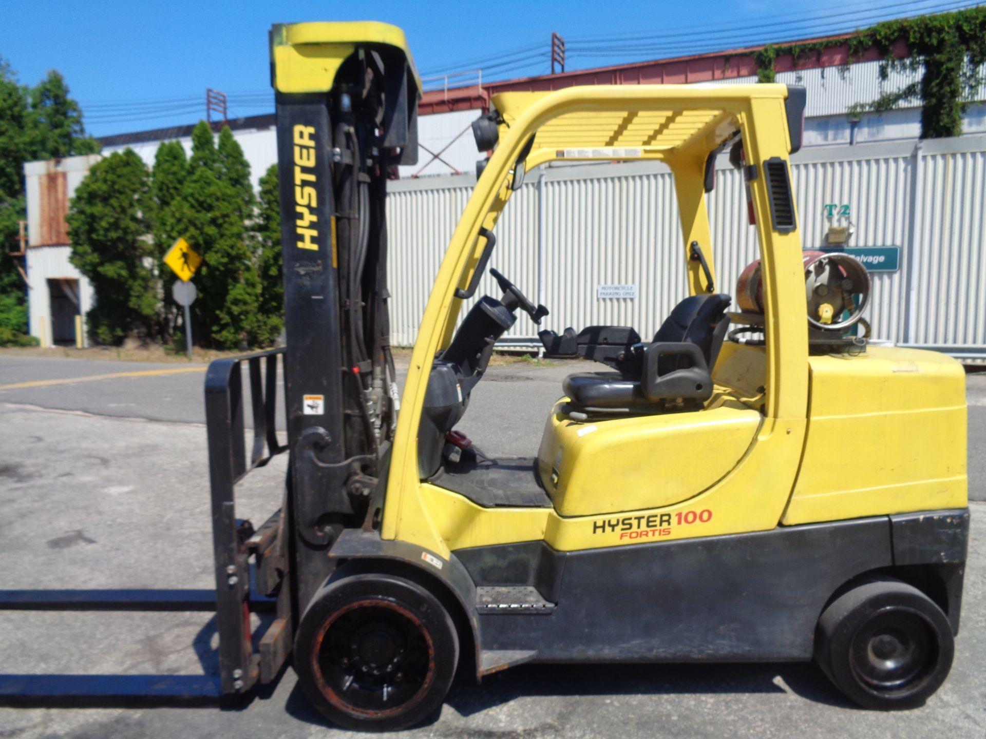 Hyster S100FT 10,000lb Forklift - Image 3 of 19