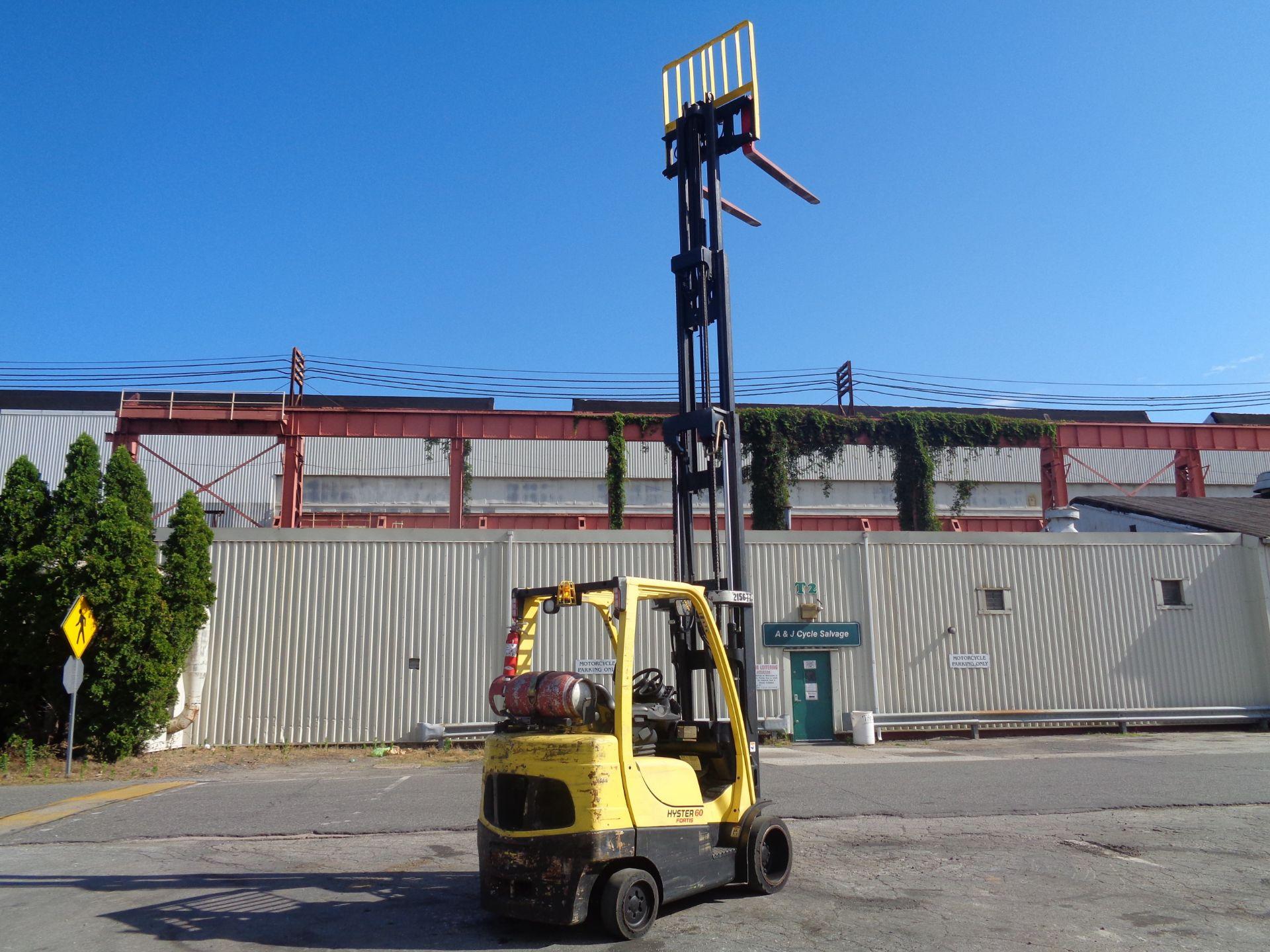 2012 Hyster S60FT 6,000lb Forklift - Quad Mast - Image 13 of 13