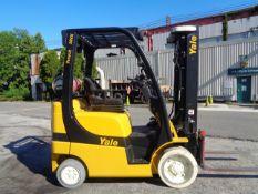 2011 Yale GLC050VXNVSE085 5,000 lb Forklift