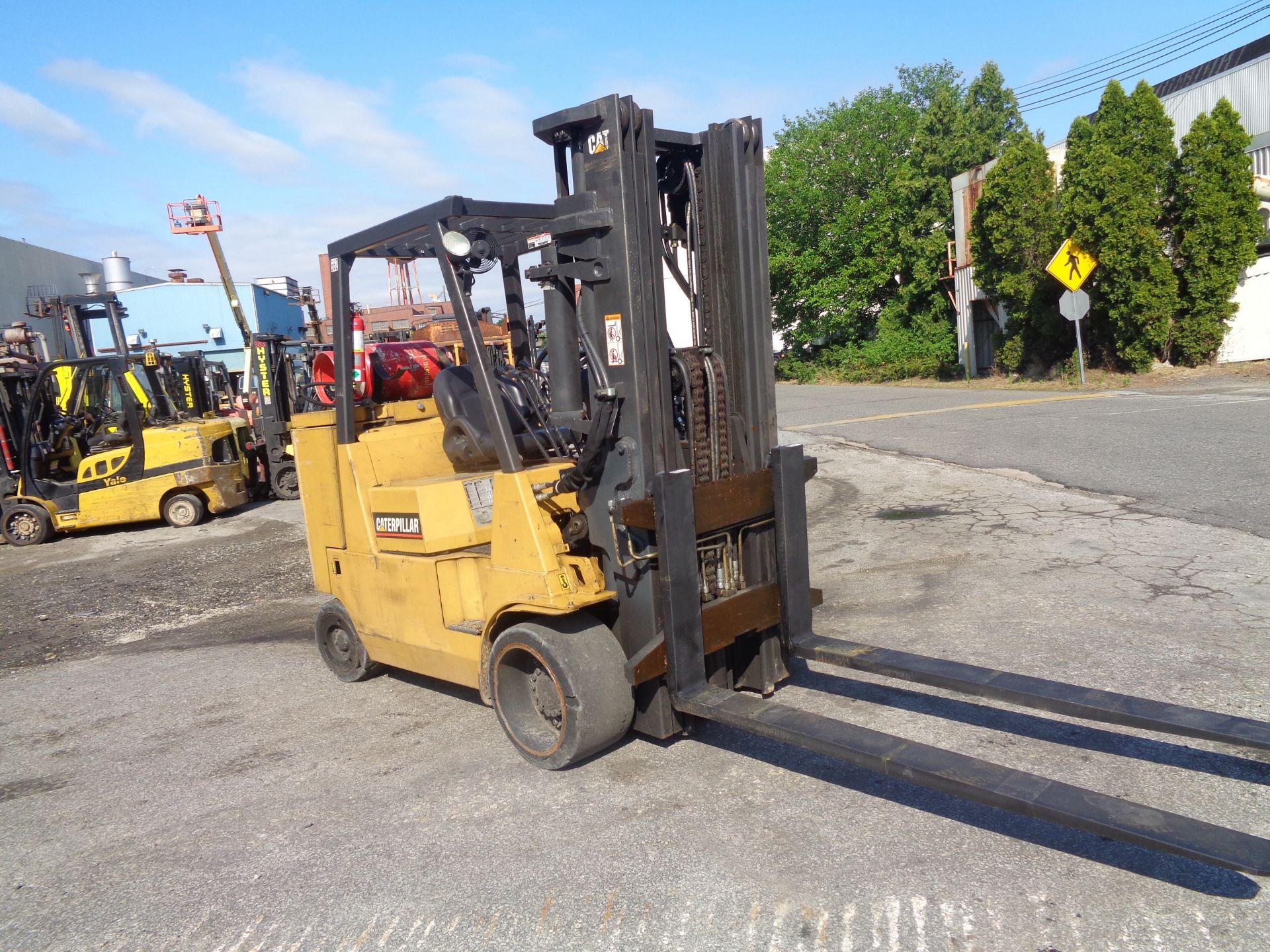 Caterpillar GC55KSTR 11,000lb Forklift - Image 7 of 14