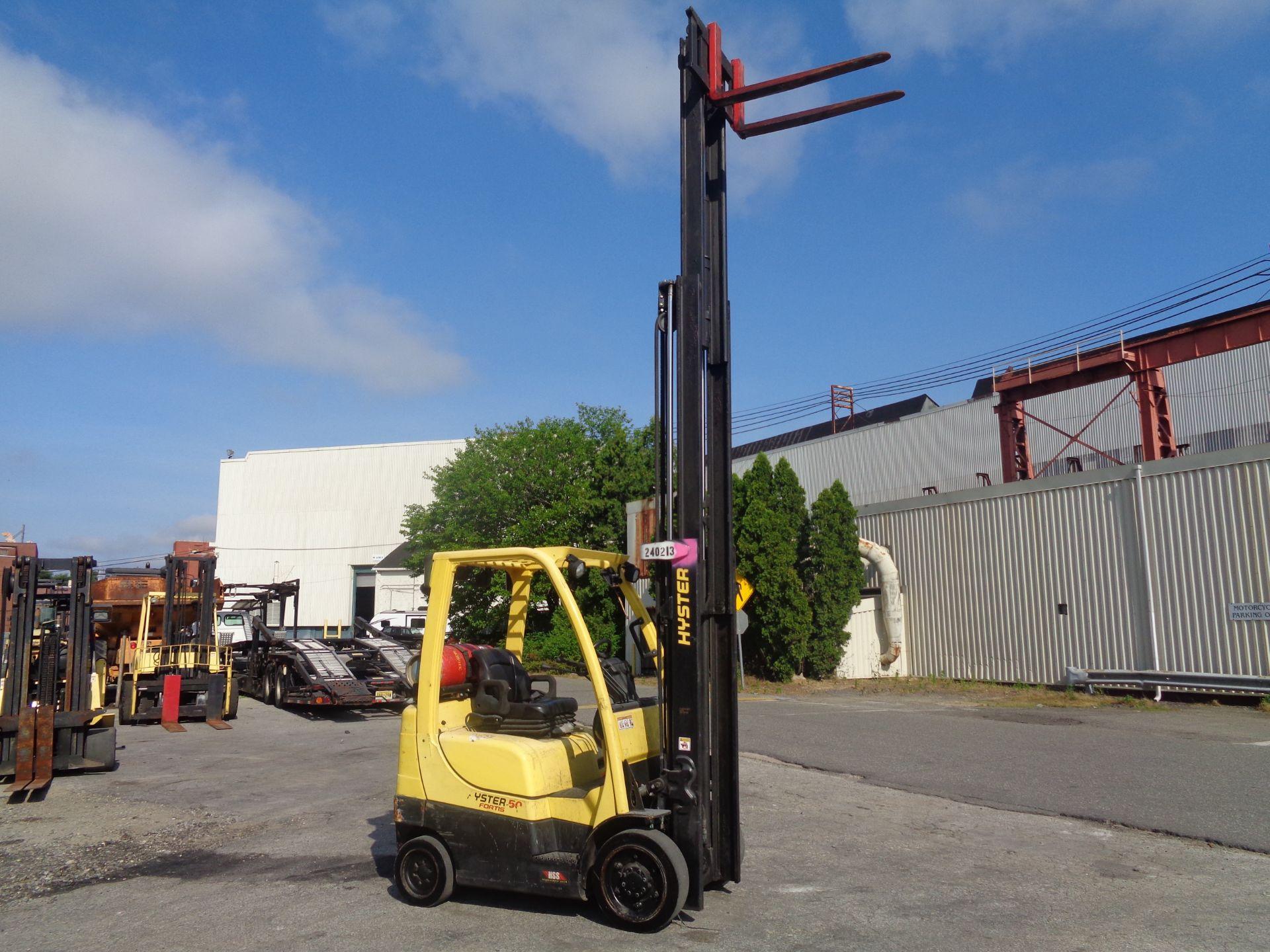 2015 Hyster S50FT 5,000 lb Forklift - Image 13 of 17