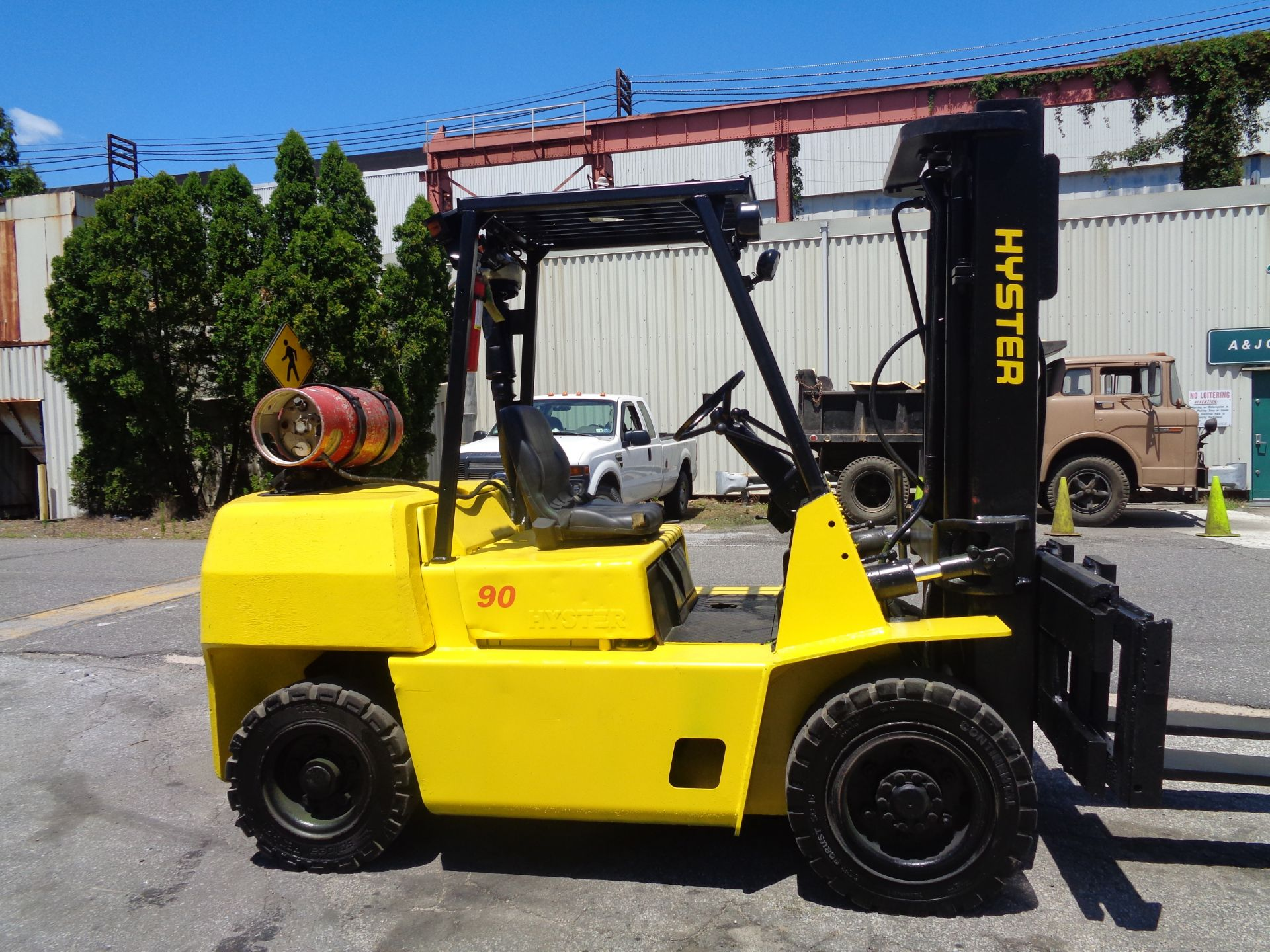 Hyster H90XLS Forklift 9,000 lbs - Image 7 of 13