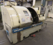 1999 OKUMA CROWN L1060 CNC TURNING CENTER