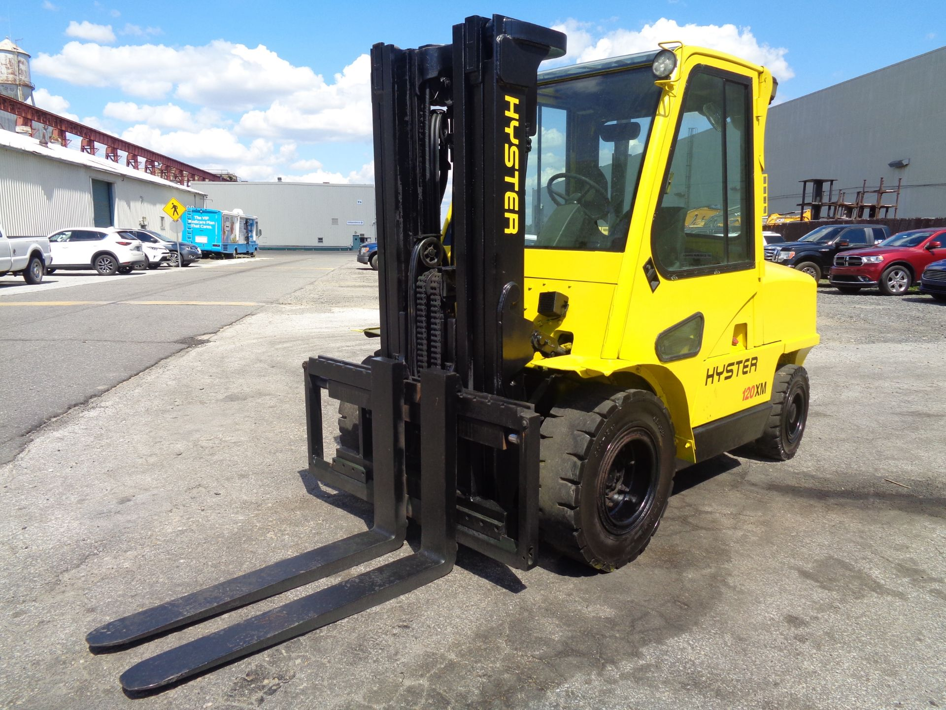 Hyster H120XL 12,000lb Forklift - Image 7 of 15