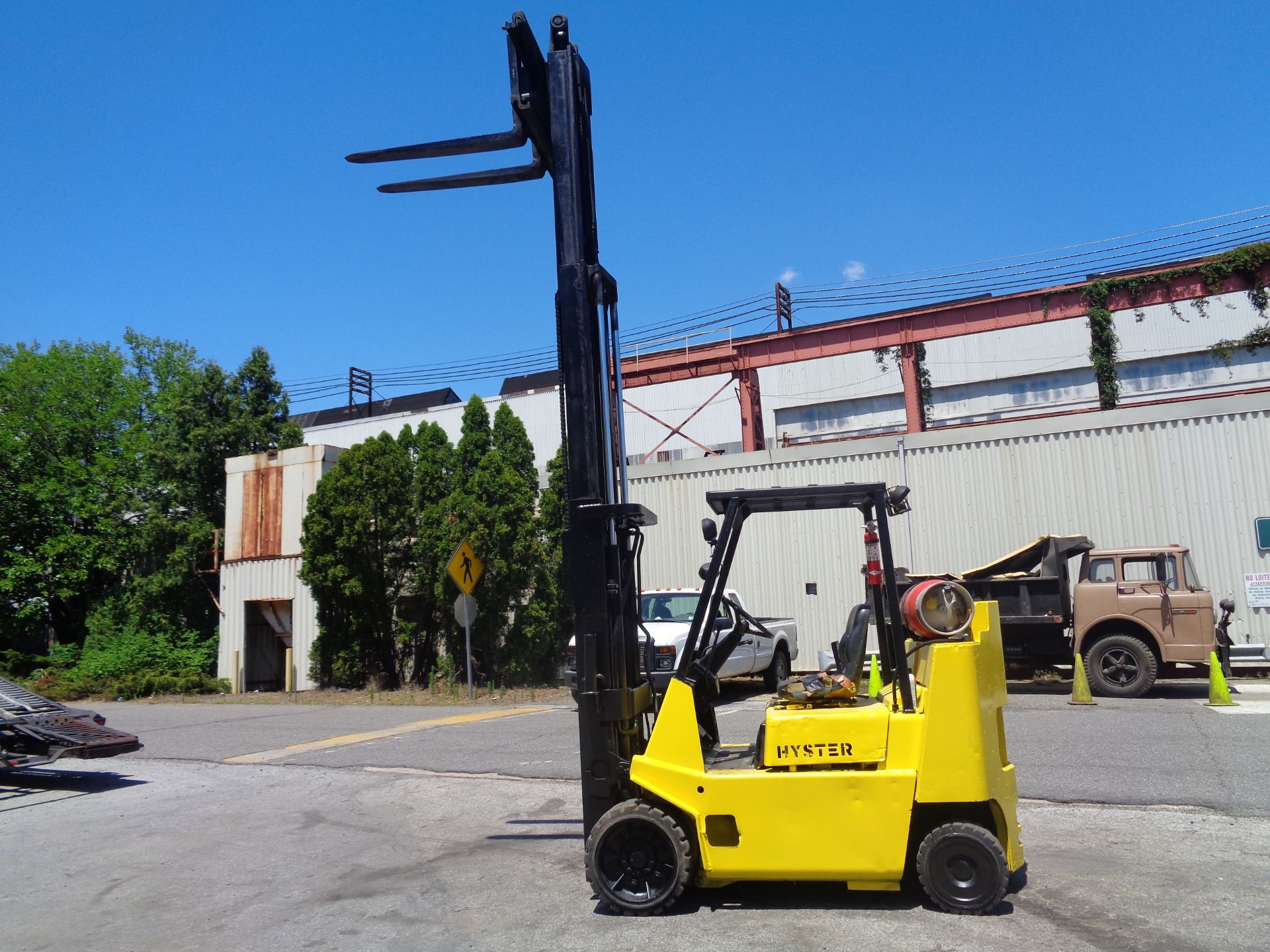 Hyster S80XL 8,000 lbs Forklift - Image 4 of 13
