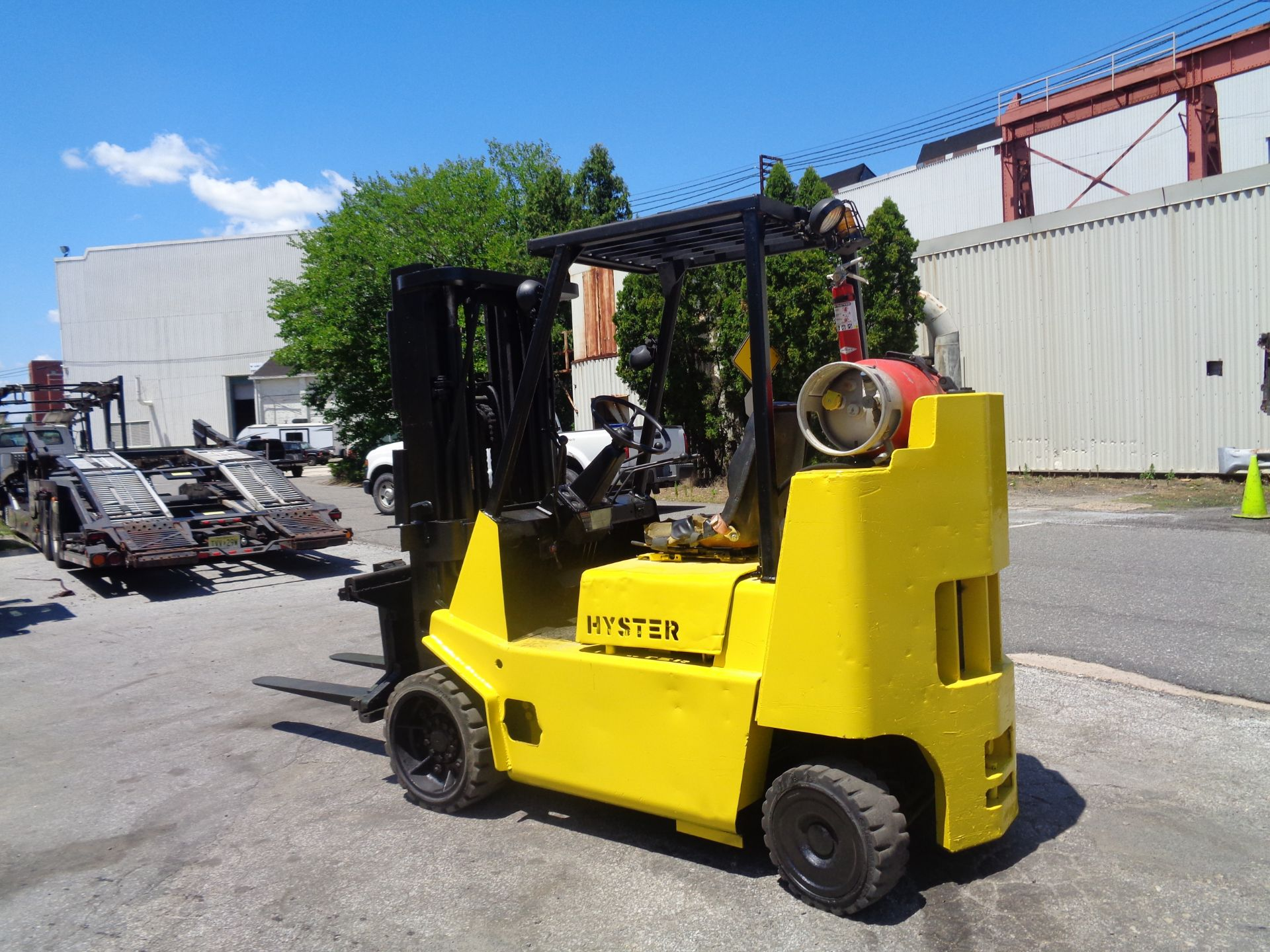 Hyster S80XL 8,000 lbs Forklift - Image 2 of 13
