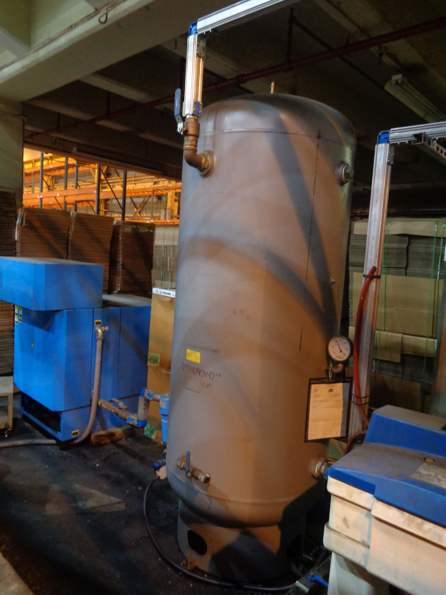 Boge Compressor and Tank - Image 2 of 5