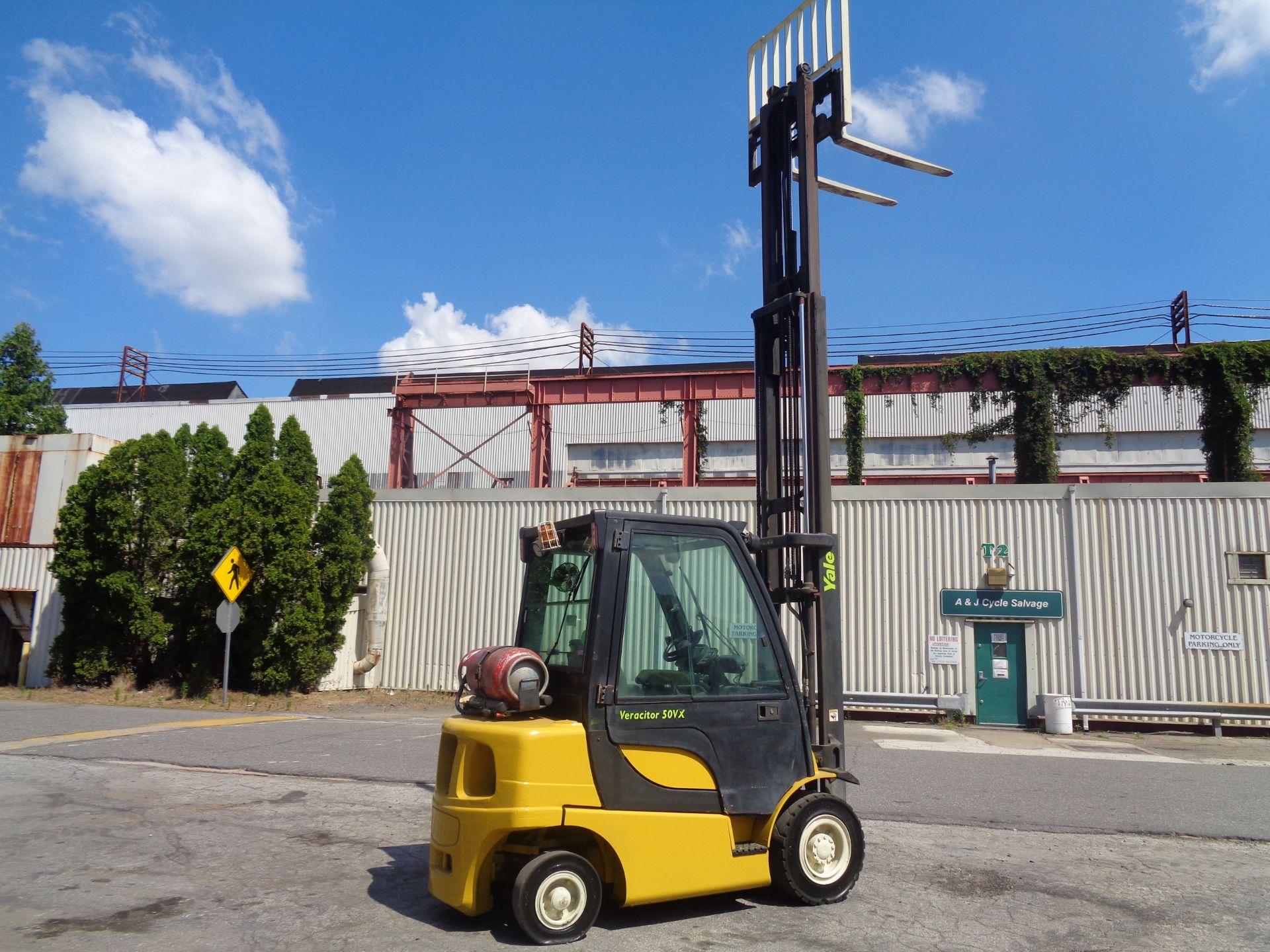 Yale GLP05VXEUSE086 5000 lb Forklift - Image 9 of 14