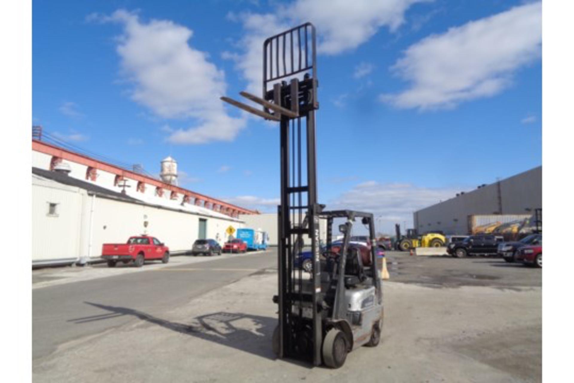 Nissan MCPL01A18LV 3500lb Forklift - Image 10 of 16