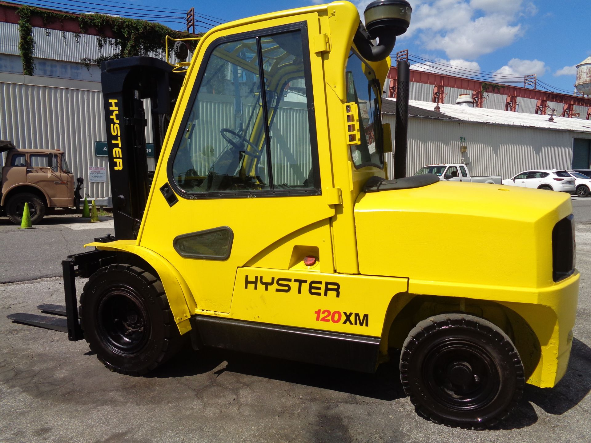 Hyster H120XL 12,000lb Forklift - Image 9 of 15