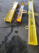 Lot of Three Spreader Beams