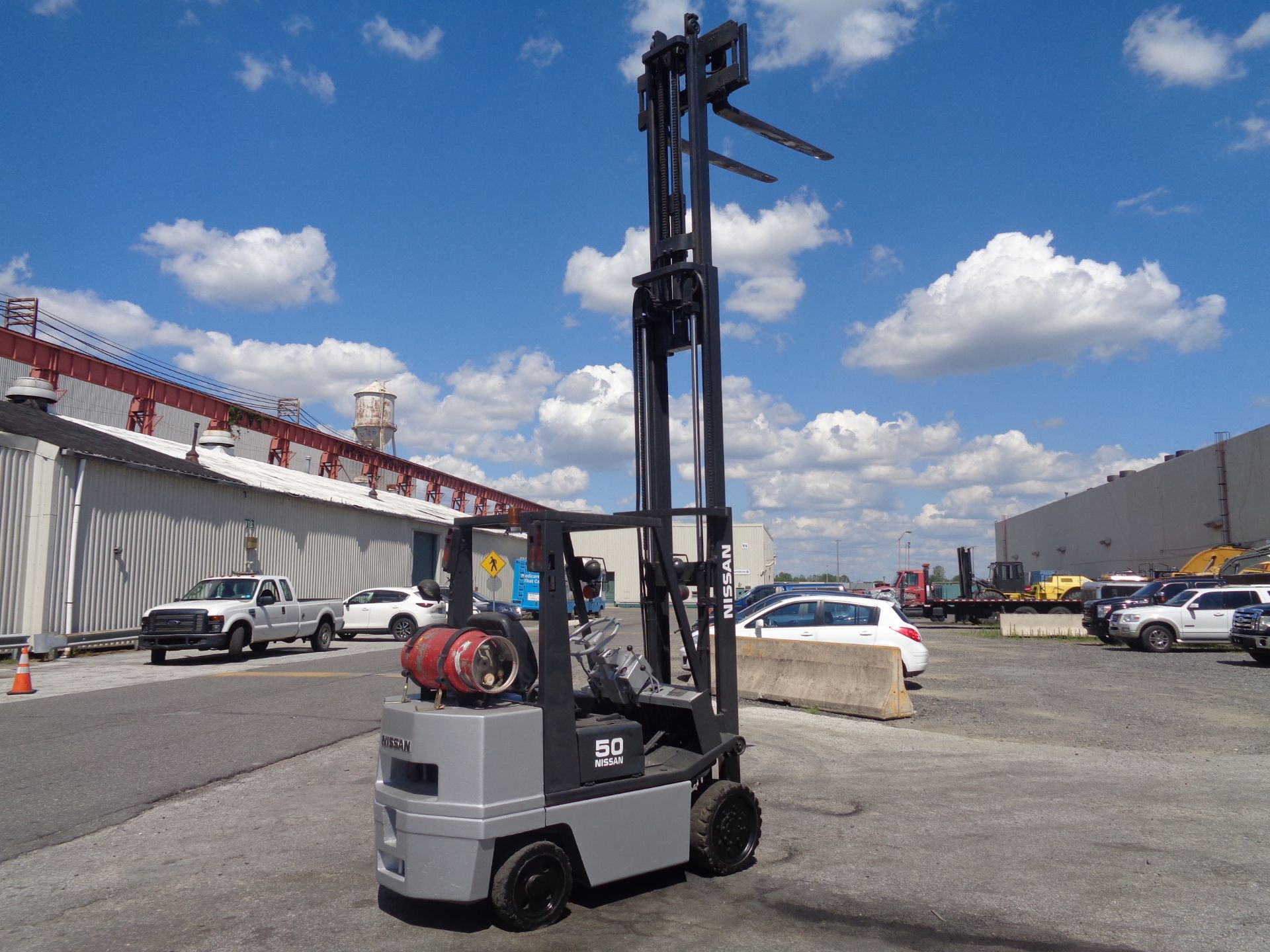 Nissan KCPH02A25PV 4,400 lb Forklift - Image 11 of 17