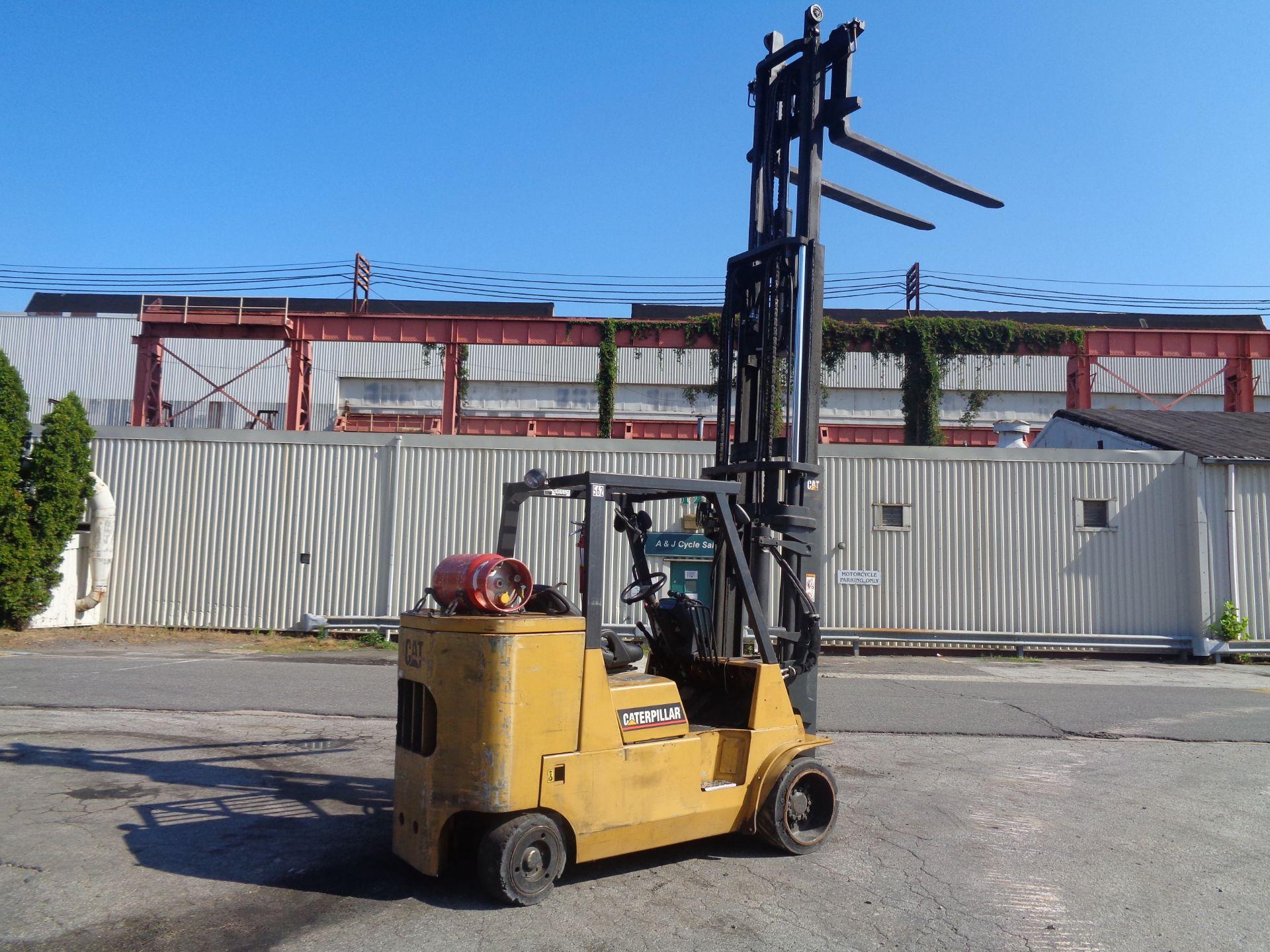Caterpillar GC55KSTR 11,000lb Forklift - Image 10 of 14