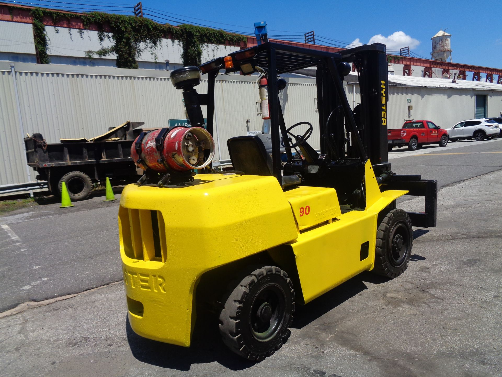 Hyster H90XLS Forklift 9,000 lbs - Image 10 of 13
