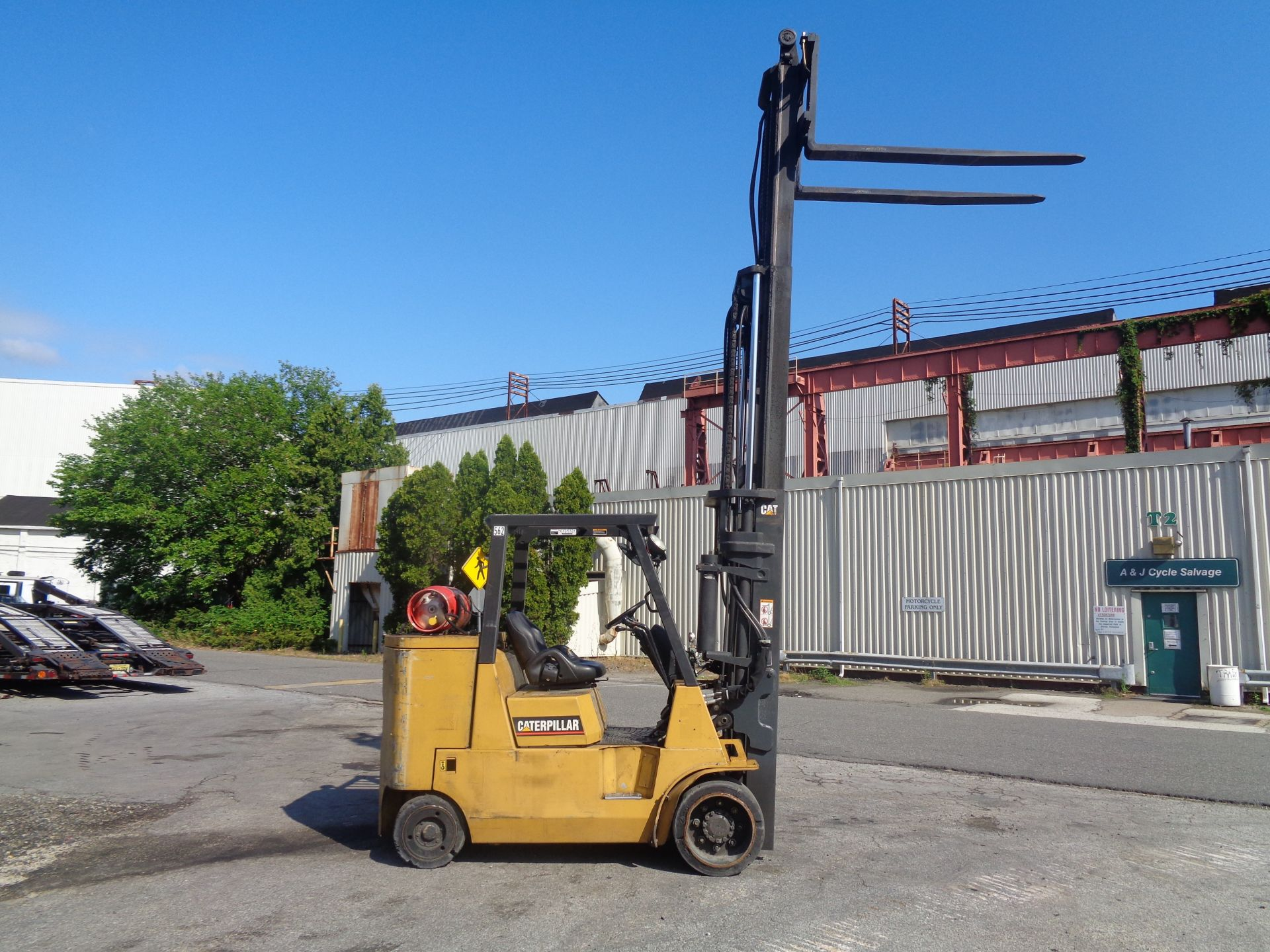 Caterpillar GC55KSTR 11,000lb Forklift - Image 9 of 14