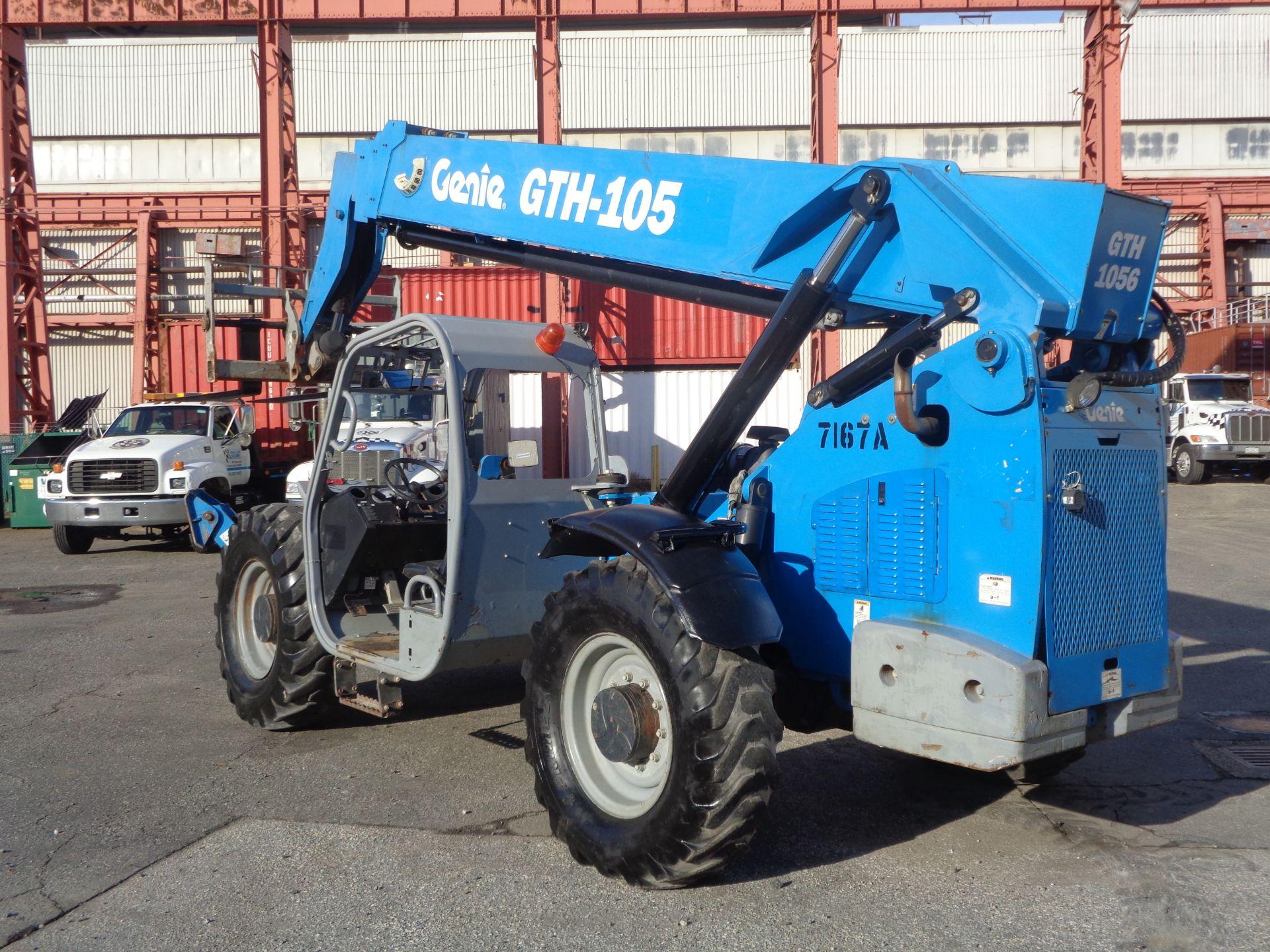 Lot 45a - 2013 Genie GTH1056 10,000 lb Telescopic Forklift