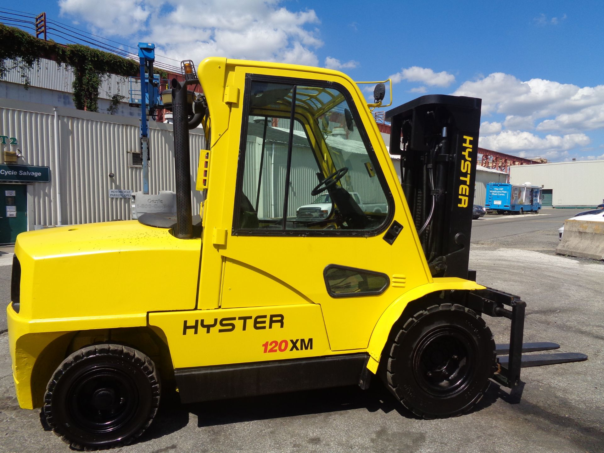 Hyster H120XL 12,000lb Forklift - Image 3 of 15