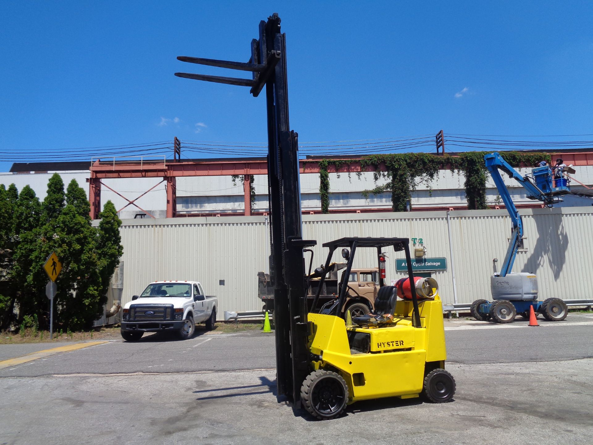 Hyster S80XL 8,000 lbs Forklift - Image 6 of 13