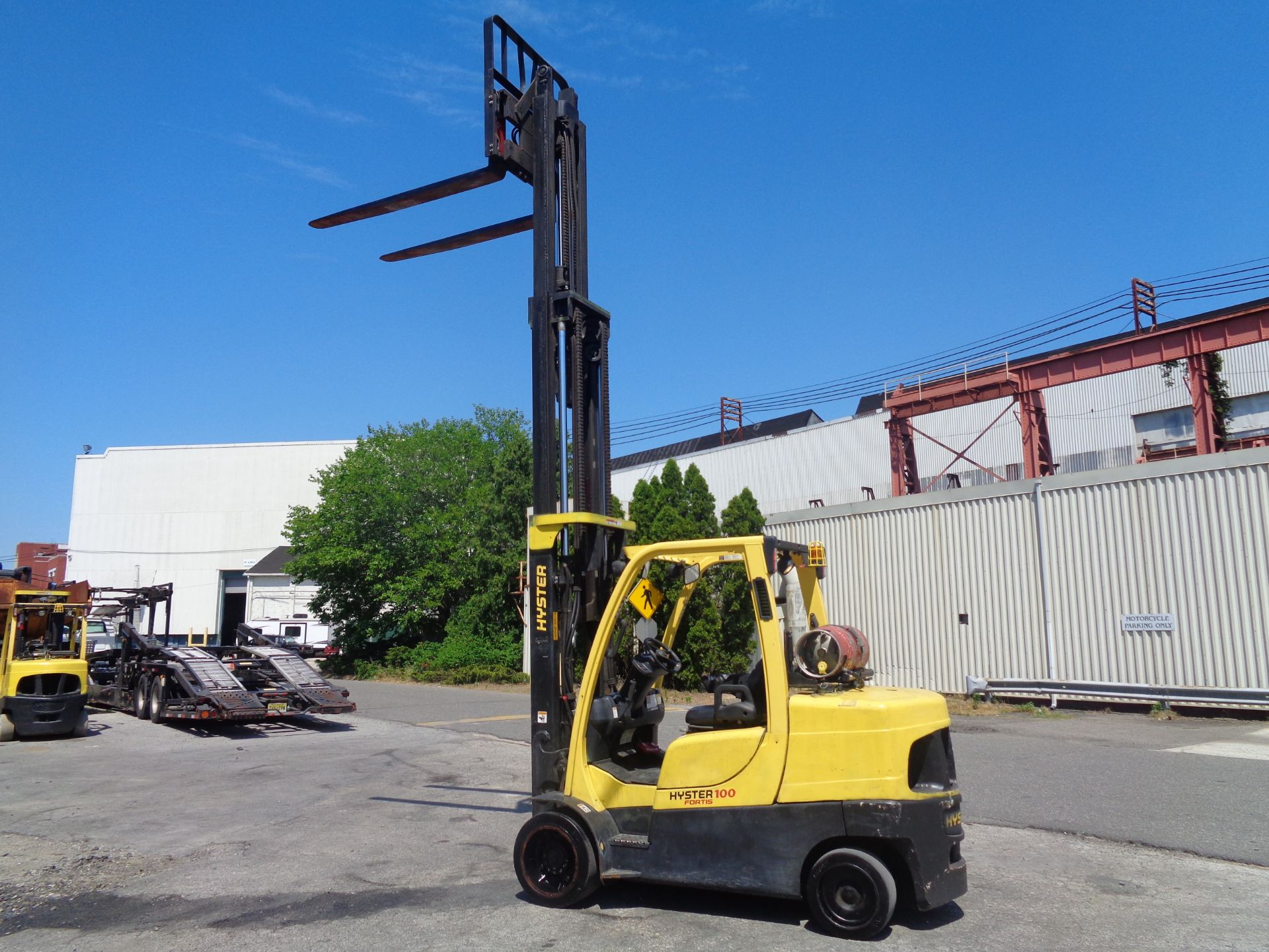 Hyster S100FT 10,000lb Forklift - Image 14 of 19
