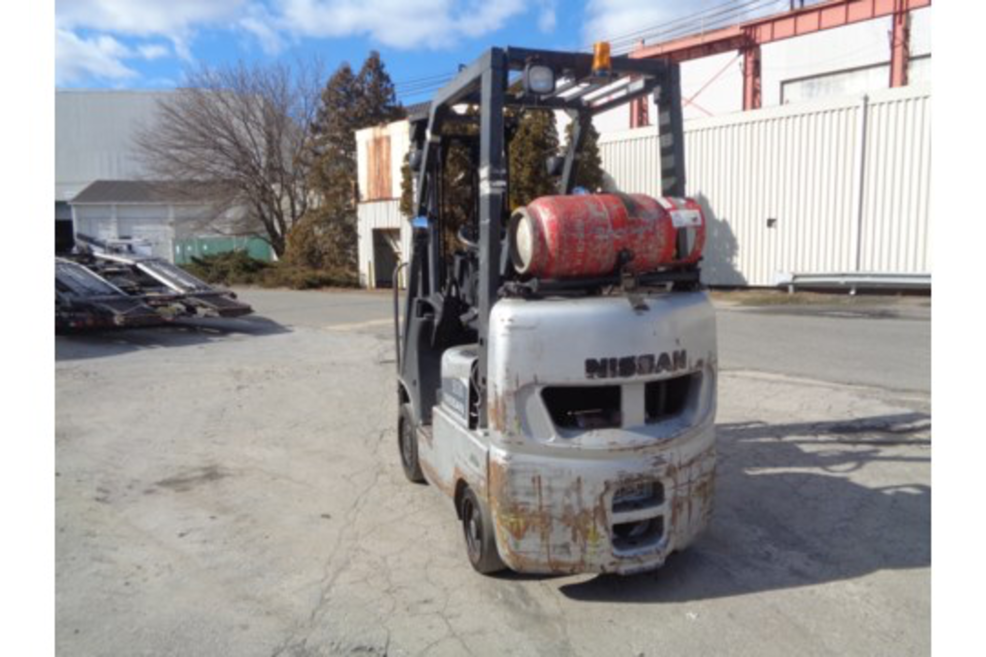 Nissan MCPL01A18LV 3500lb Forklift - Image 9 of 16