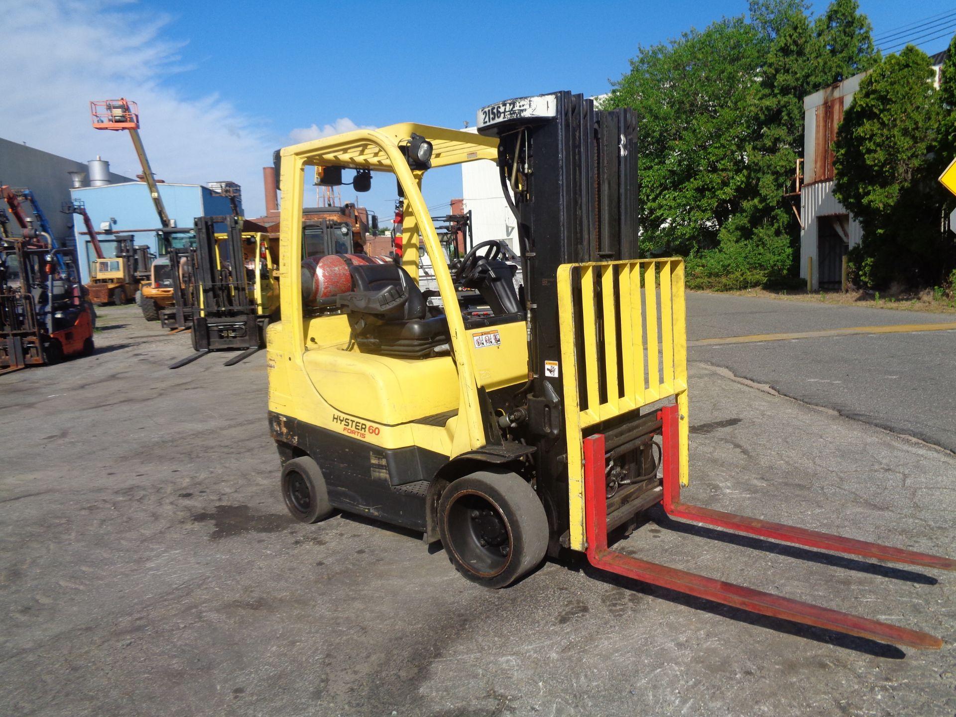 2012 Hyster S60FT 6,000lb Forklift - Quad Mast - Image 10 of 13