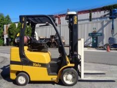 2014 Yale GLC070VXNGSE088 7,000 lbs Forklift