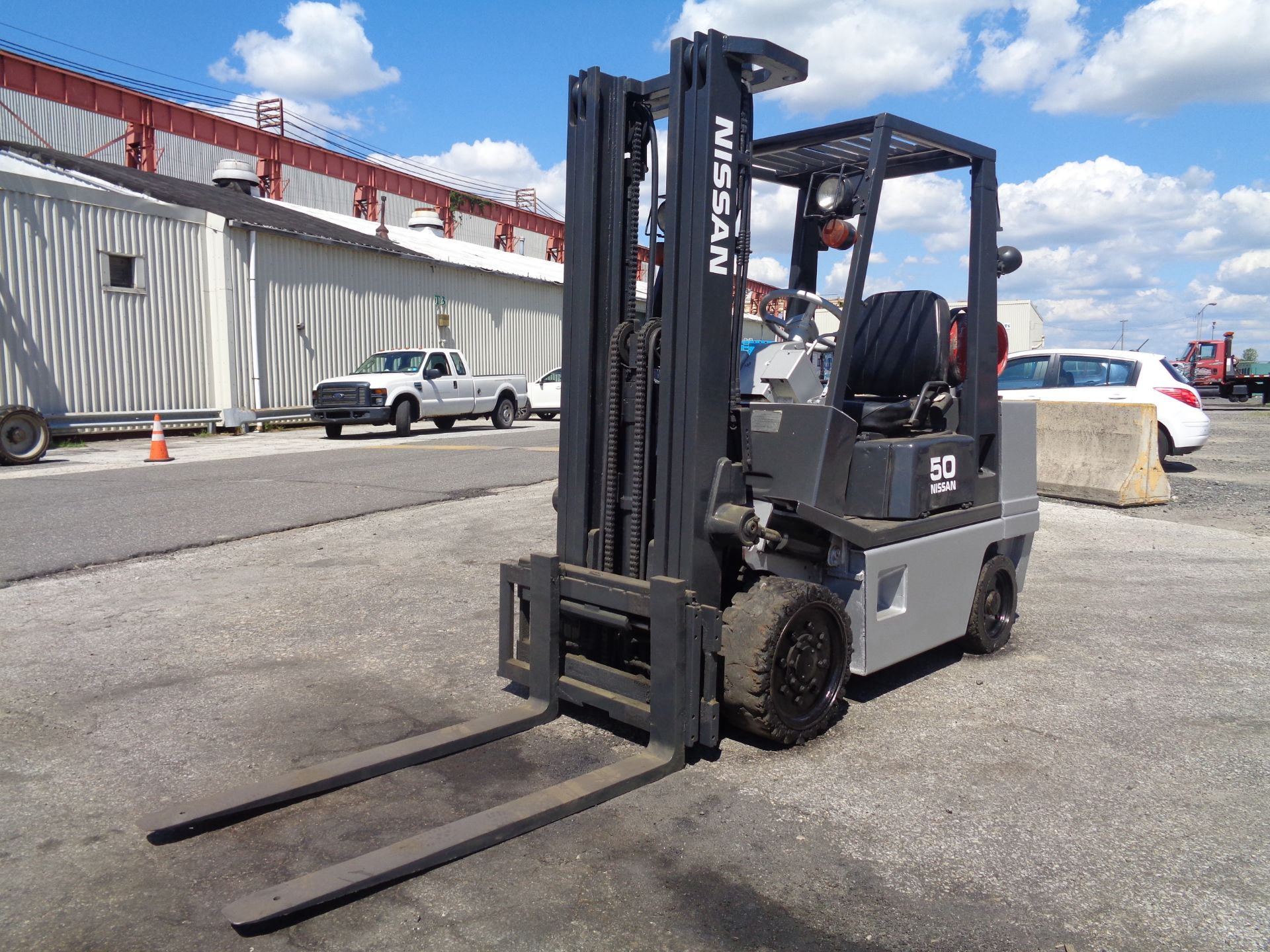 Nissan KCPH02A25PV 4,400 lb Forklift - Image 2 of 17