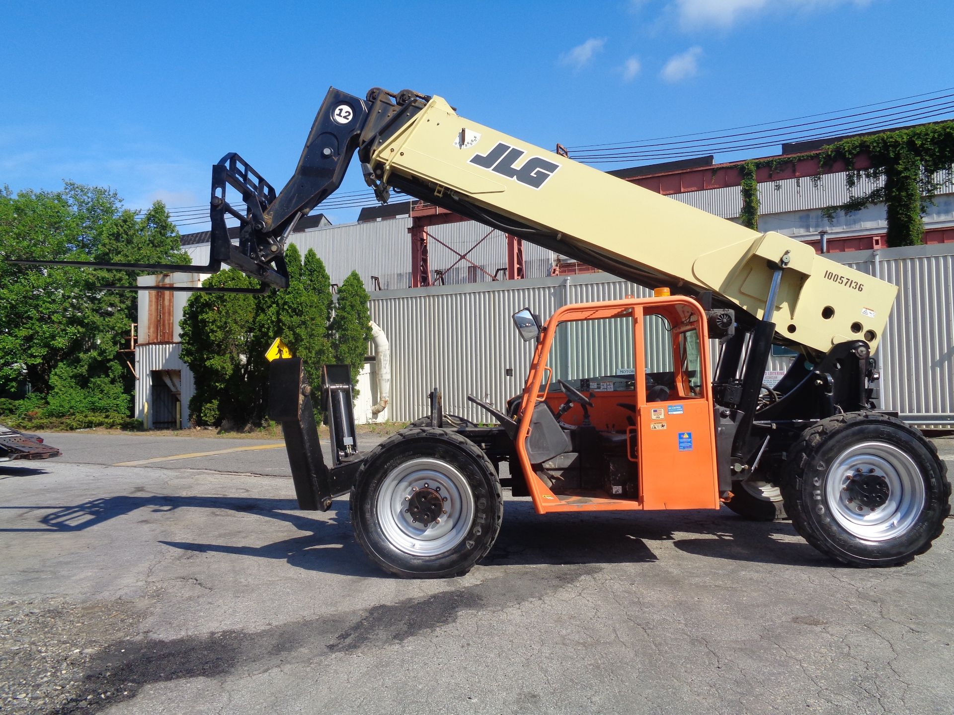 Lot 45 - 2012 JLG G12-55A 12,000lb Telescopic Forklift