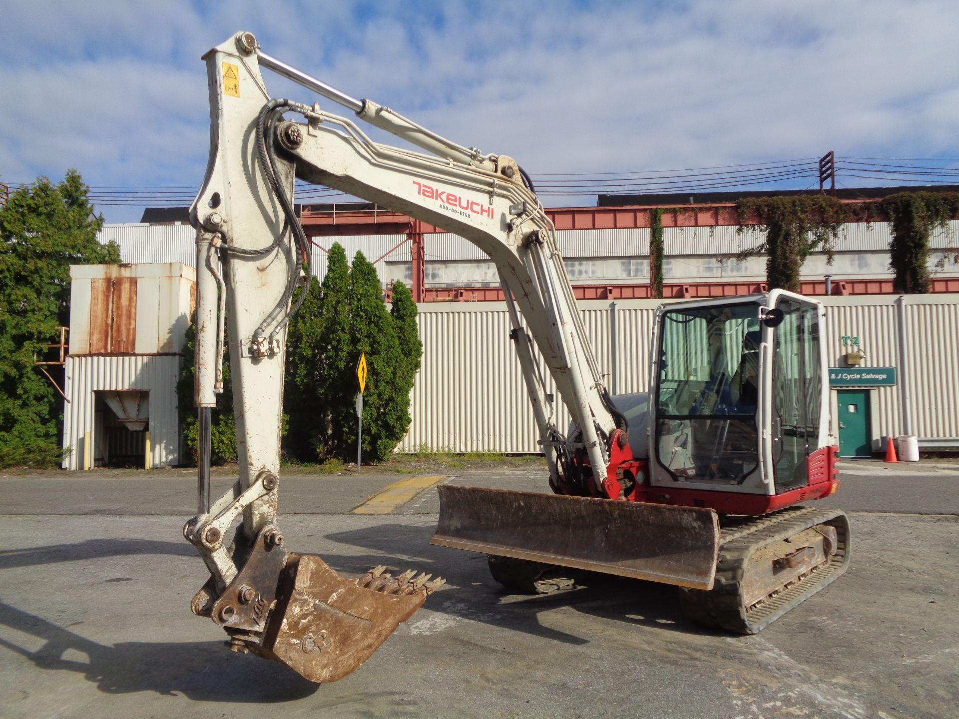 Lot 36 - 2014 Takeuchi TB285 Excavator