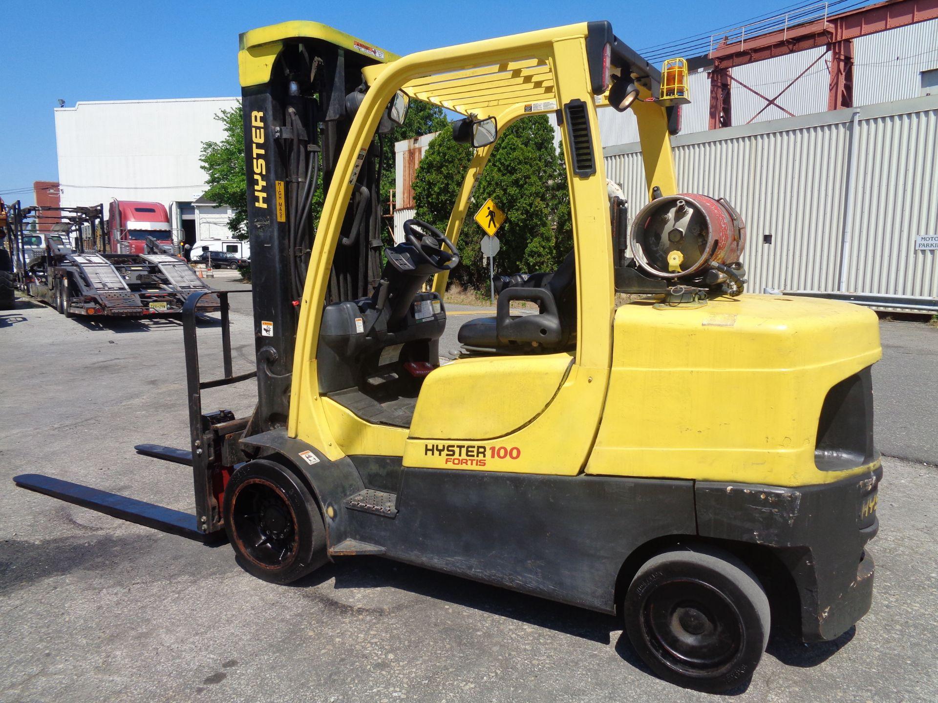 Hyster S100FT 10,000lb Forklift - Image 6 of 19