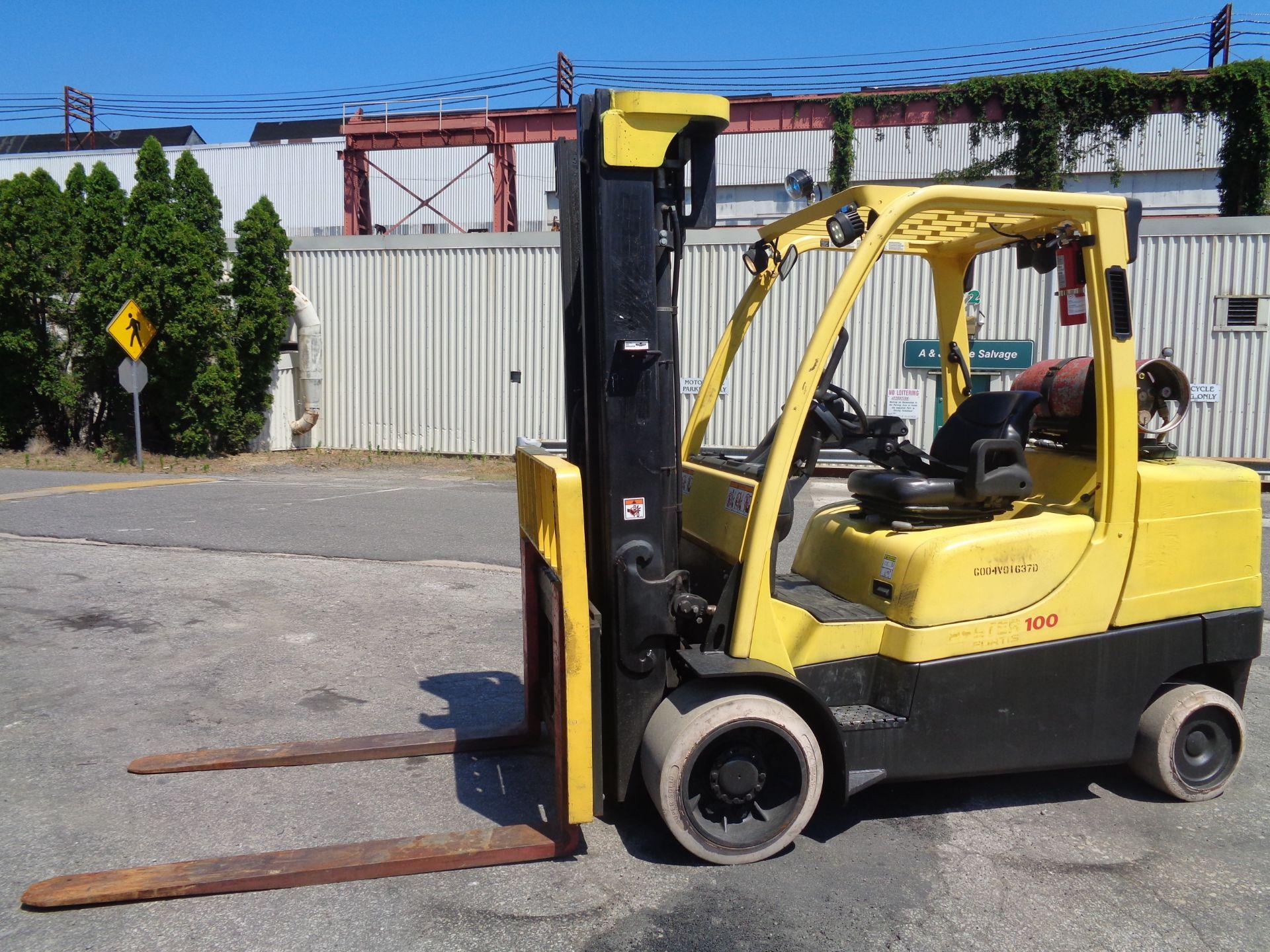 Hyster S100FT 10,000lb Forklift - Image 5 of 17