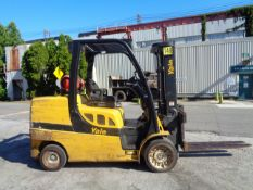 2015 Yale GLC120VXNGSF085 12,000 lbs Forklift