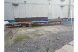 2003 Load King HFT70 Trailer with Hydraulic Beaver Tail