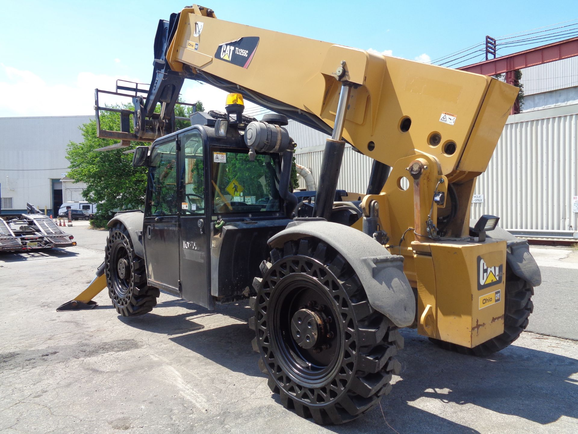 Lot 44 - 2012 Caterpillar TL1255C 12,000 lb Telescopic Forklift