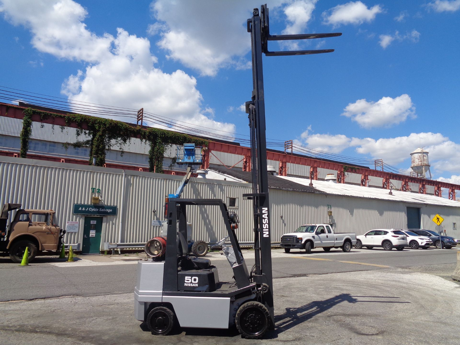 Nissan KCPH02A25PV 4,400 lb Forklift - Image 13 of 17