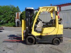 2012 Hyster S60FT 6,000lb Forklift - Quad Mast