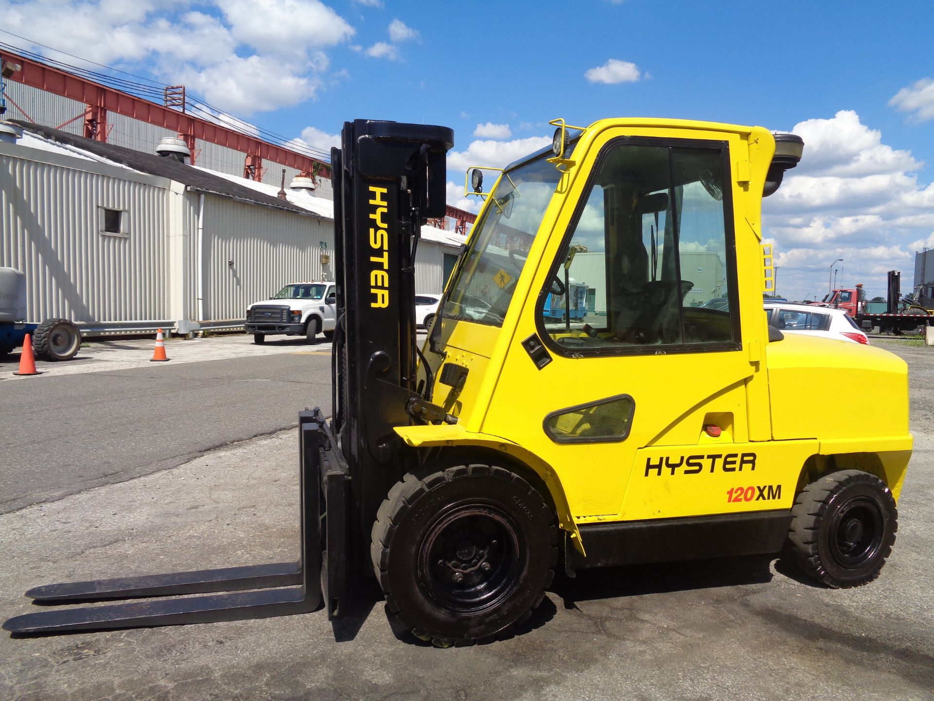 Hyster H120XL 12,000lb Forklift - Image 8 of 15