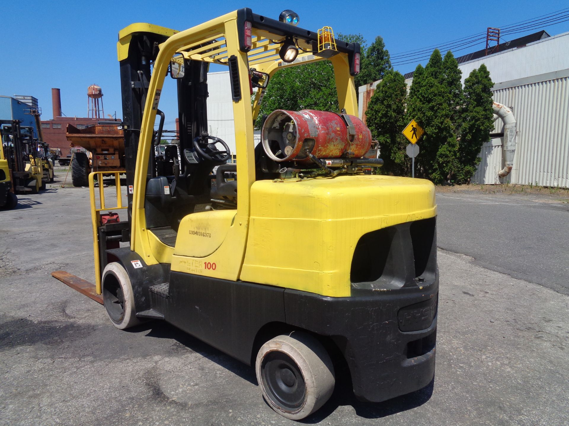 Hyster S100FT 10,000lb Forklift - Image 3 of 17