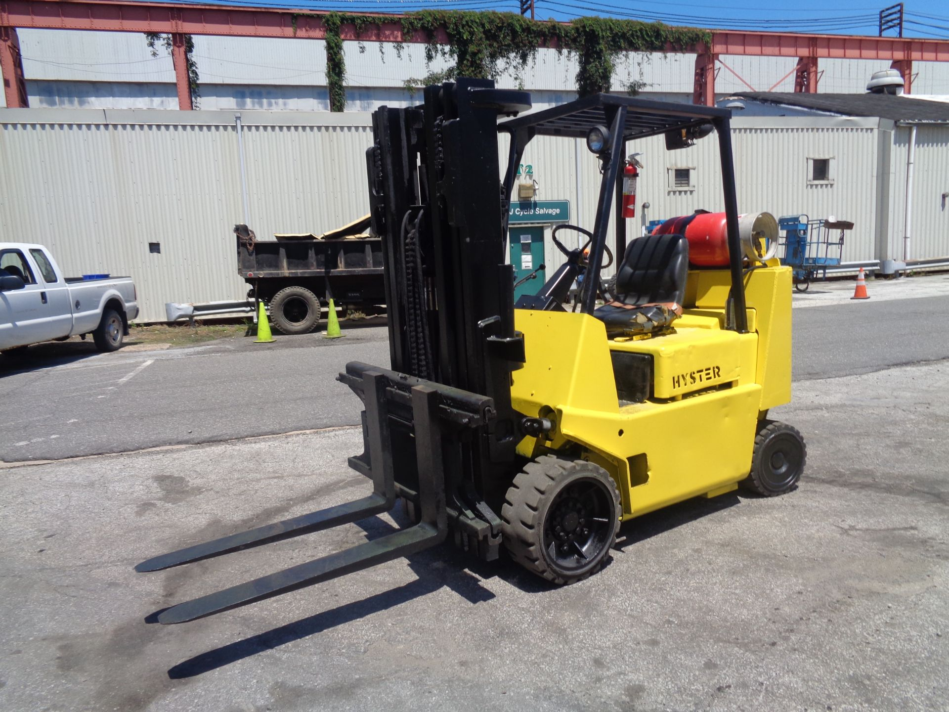 Hyster S80XL 8,000 lbs Forklift - Image 3 of 13