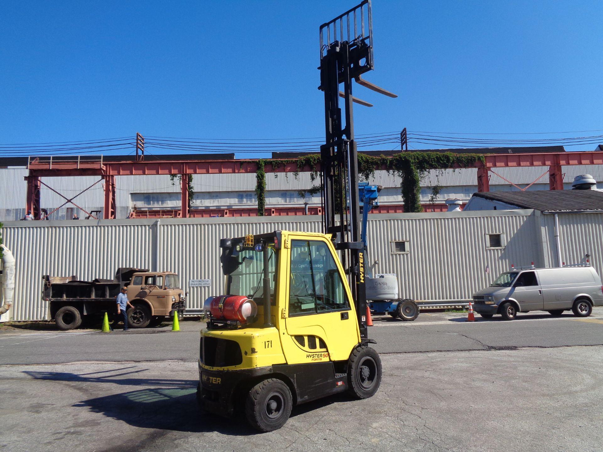 2015 Hyster H50FT 5,000 lb Forklift - Image 10 of 12