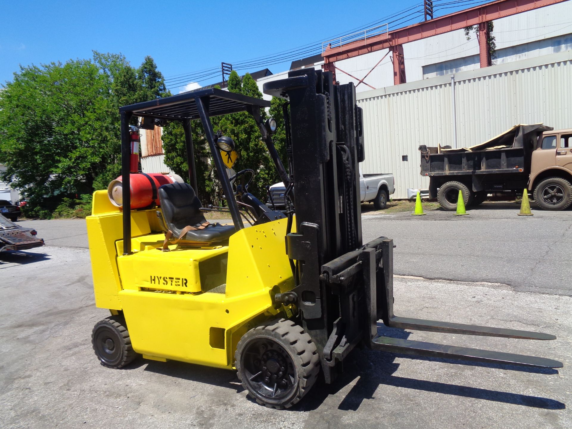 Hyster S80XL 8,000 lbs Forklift - Image 12 of 13