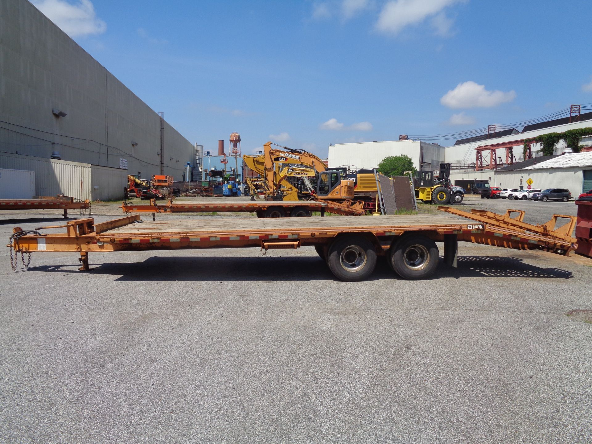 Lot 31 - 2011 Hudson Bros Trailer HTD18D - 10 Ton