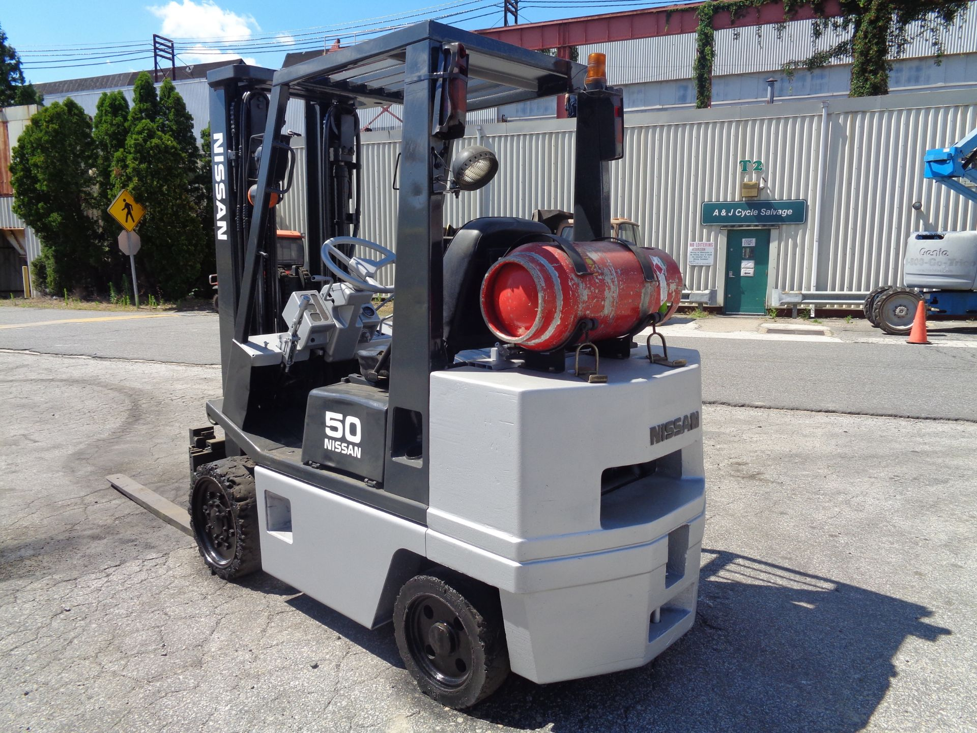Nissan KCPH02A25PV 4,400 lb Forklift - Image 5 of 17