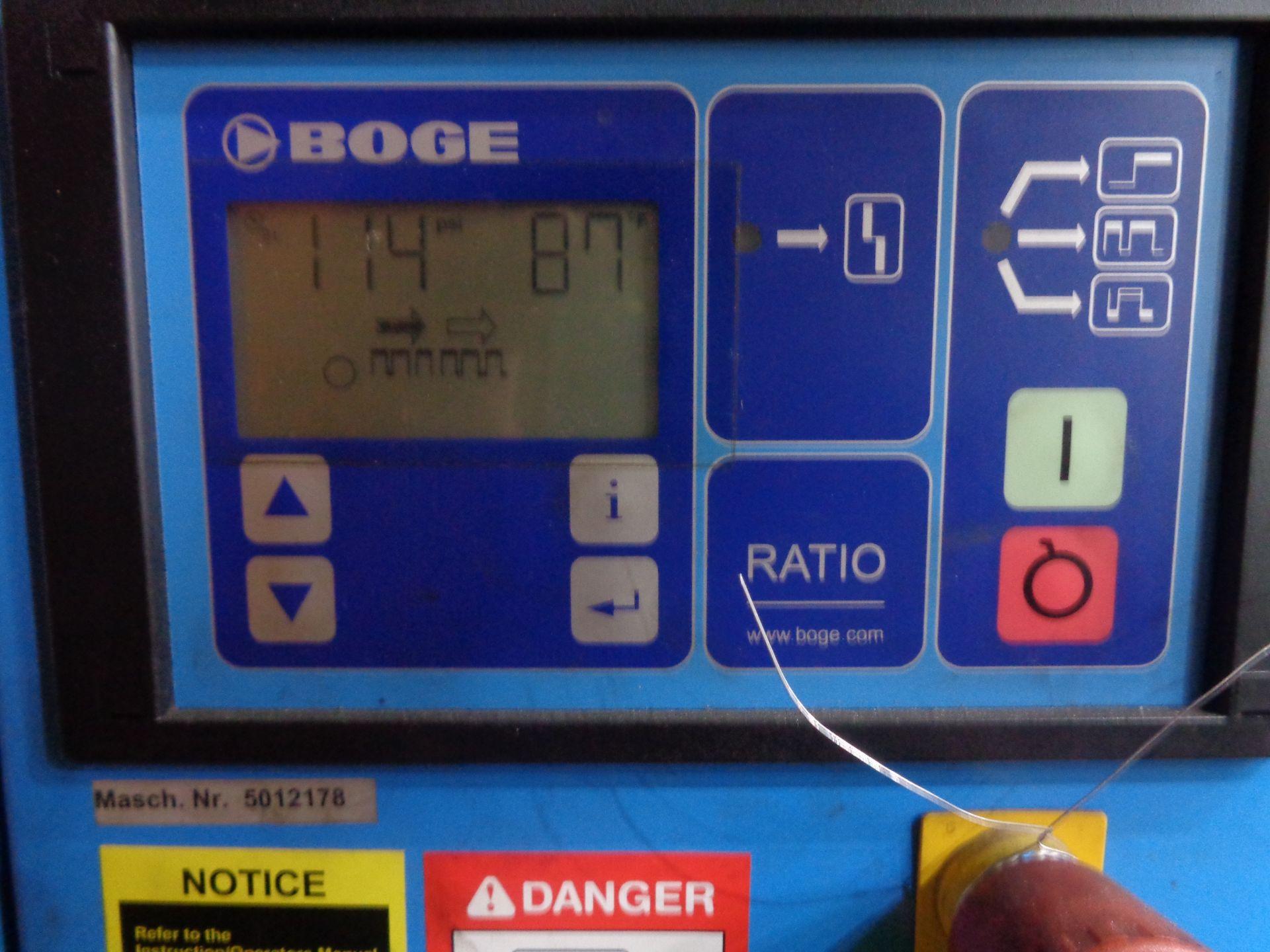 Boge Compressor and Tank - Image 4 of 5