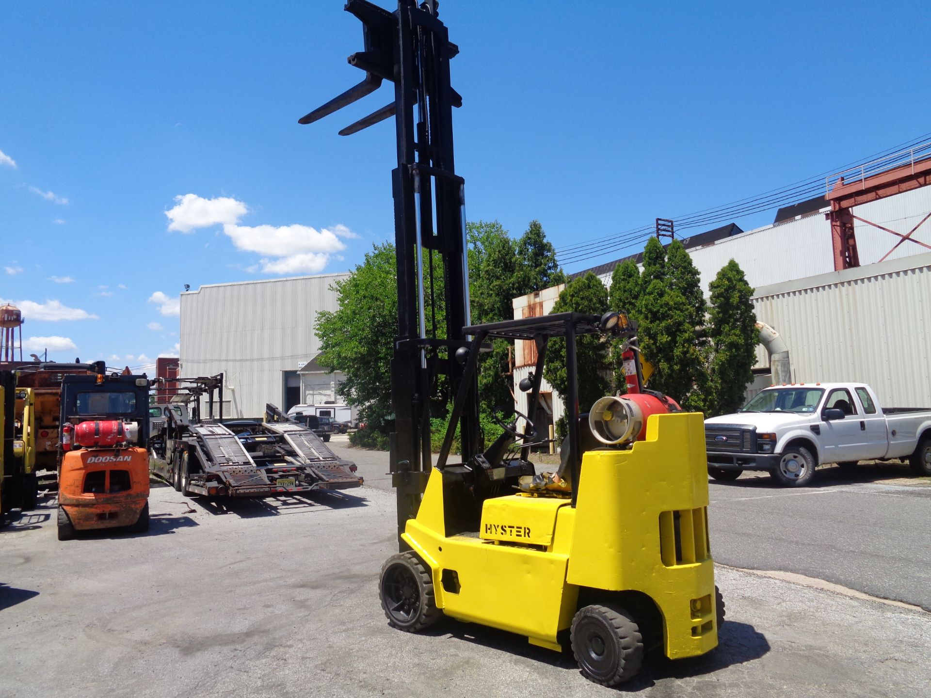Hyster S80XL 8,000 lbs Forklift - Image 5 of 13