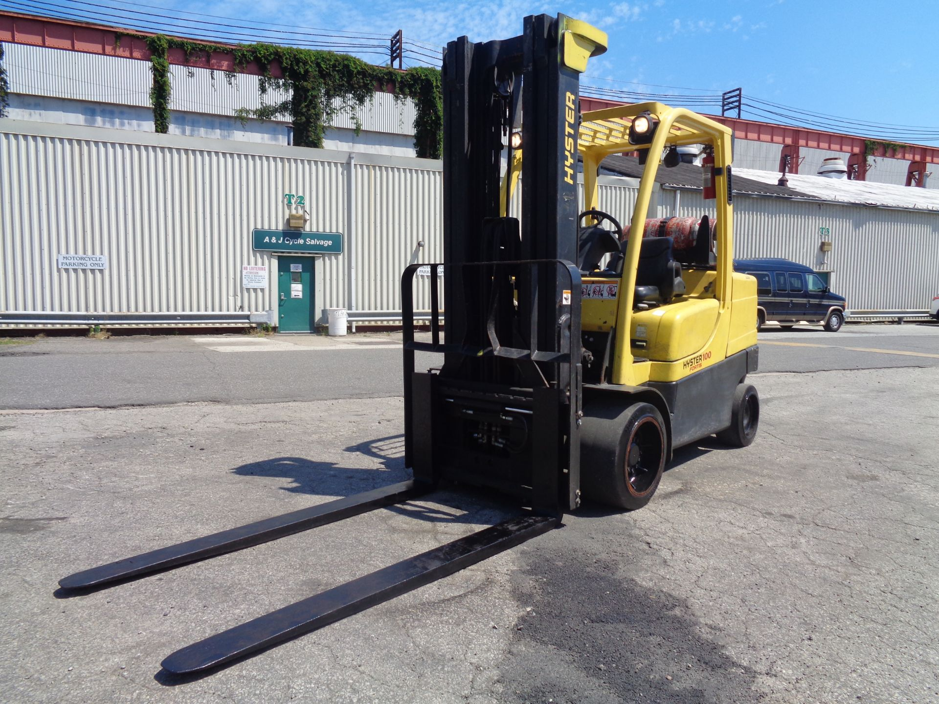 Hyster S100FT 10,000lb Forklift - Image 11 of 19