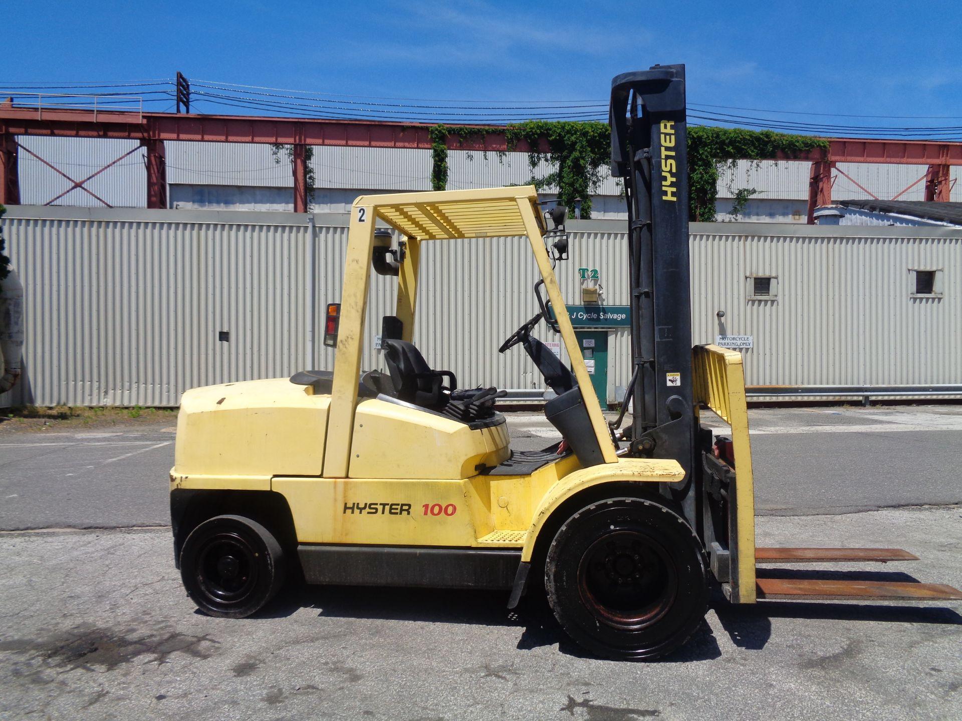Hyster H100XM 10,000lb Forklift - Image 3 of 10