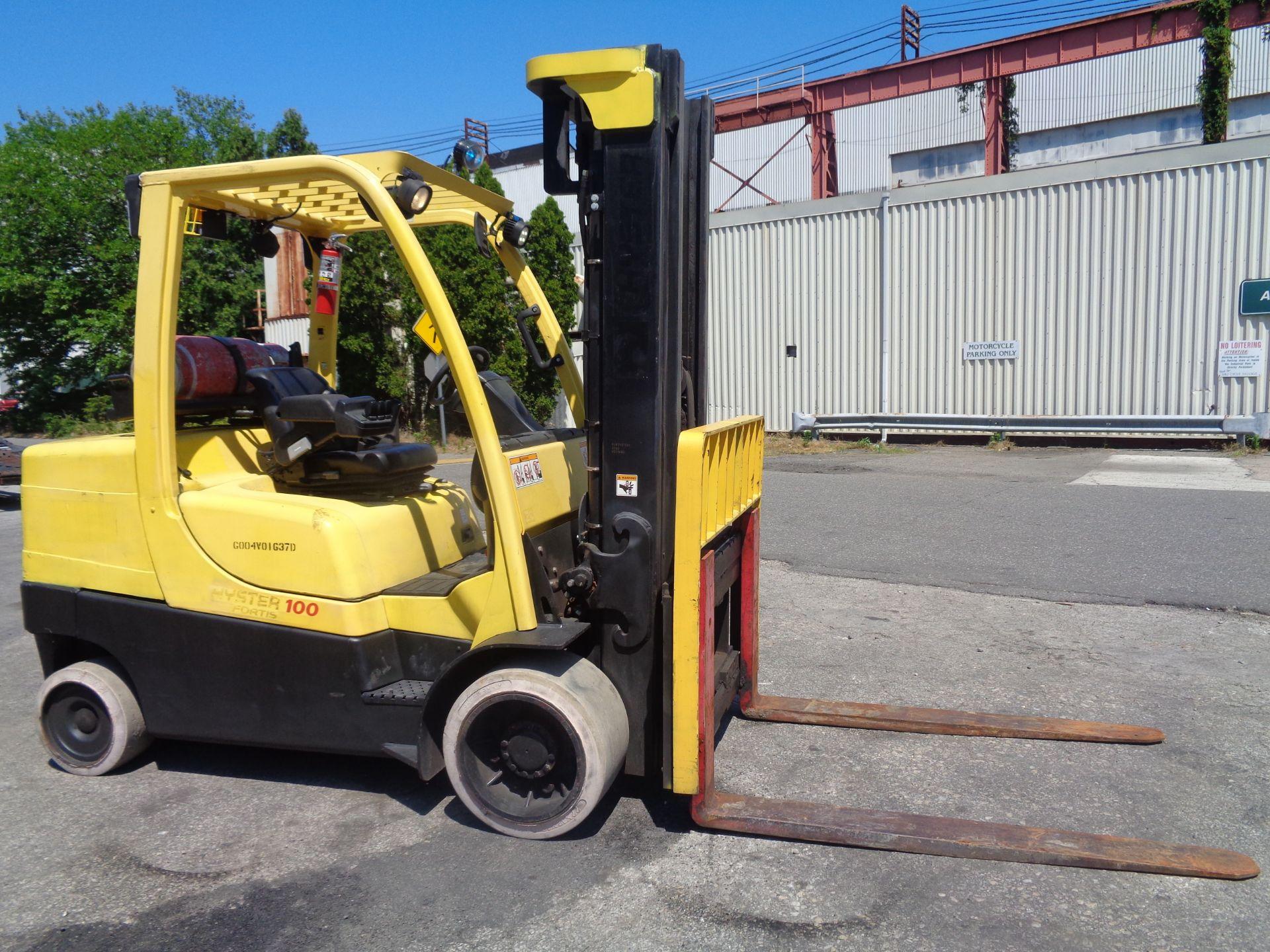 Hyster S100FT 10,000lb Forklift - Image 8 of 17